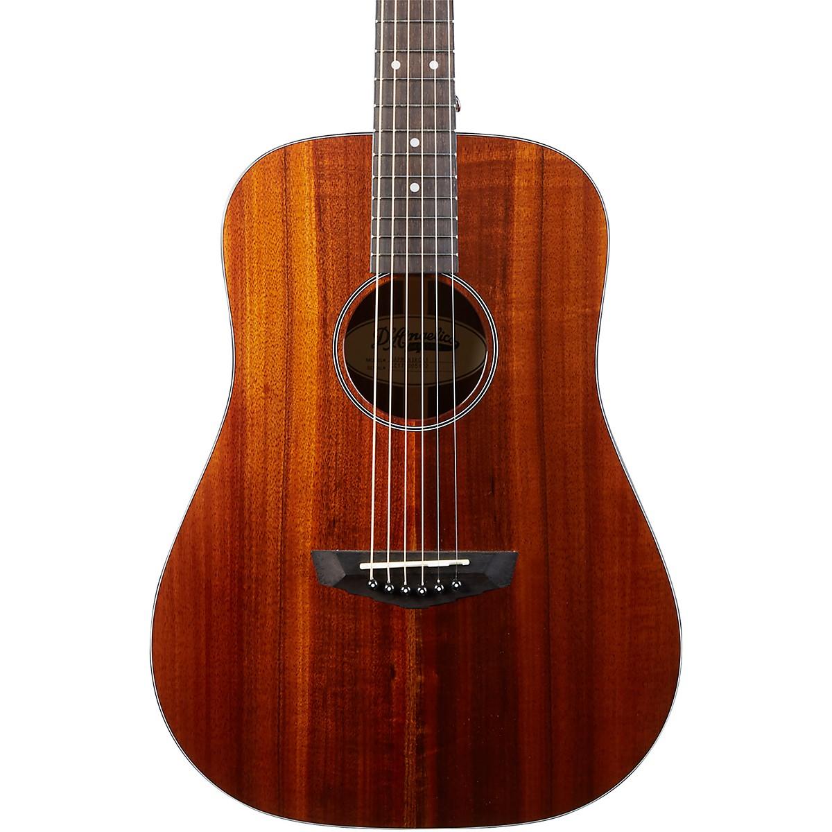 D'Angelico Premier Niagara Solid Koa Top Mini Dreadnought Acoustic Guitar