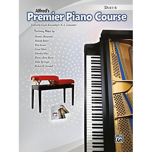 Alfred Premier Piano Course, Duet 6 Book Level 6