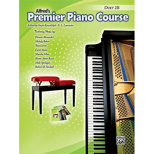 Alfred Premier Piano Course Duet Book 2B