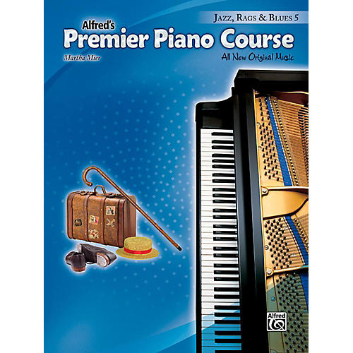 Alfred Premier Piano Course, Jazz, Rags & Blues 5 - Level 5