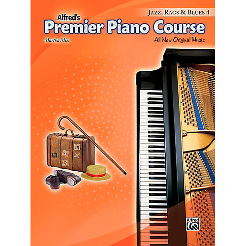 Alfred Premier Piano Course Jazz, Rags & Blues Book 4