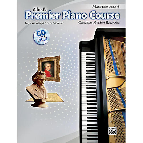 Alfred Premier Piano Course Masterworks Book 6 & CD