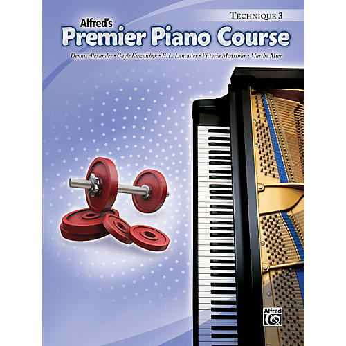 Alfred Premier Piano Course Technique Book 3