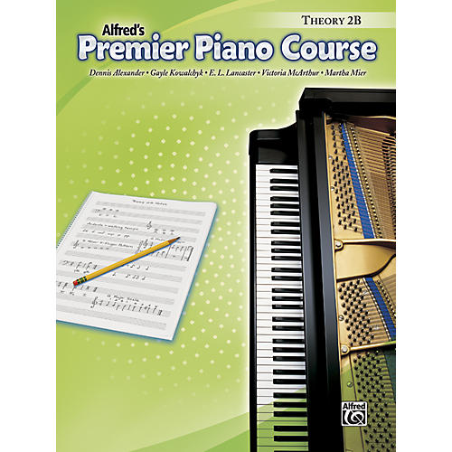 Alfred Premier Piano Course Theory Book 2B