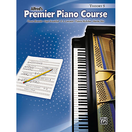 Alfred Premier Piano Course Theory Book 5