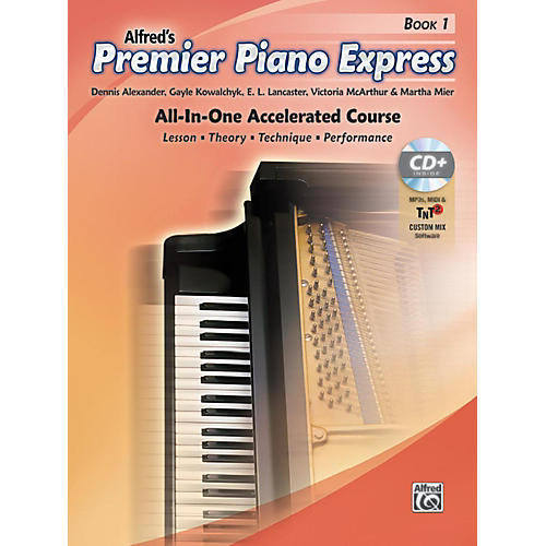 Alfred Premier Piano Express Book 1 Book CD & Online Audio & Software Level 1