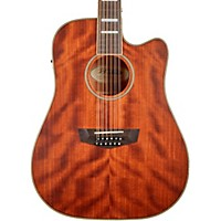 D'Angelico Premier Riverside Dreadnaught 12-String Acoustic-Electric Guitar (Natural)