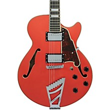 Premier SS Semi-Hollow Electric Guitar with Stairstep Tailpiece Fiesta Red