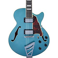 Premier SS Semi-Hollow Electric Guitar with Stairstep Tailpiece Ocean Turquoise