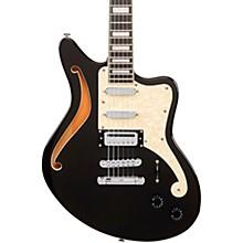 Premier Series Bedford SH Electric Guitar Offset Stopbar Tailpiece Black Flake
