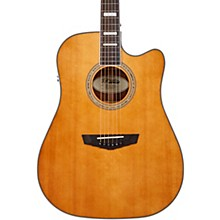 Premier Series Bowery Cutaway Dreadnought Acoustic-Electric Guitar Vintage Natural