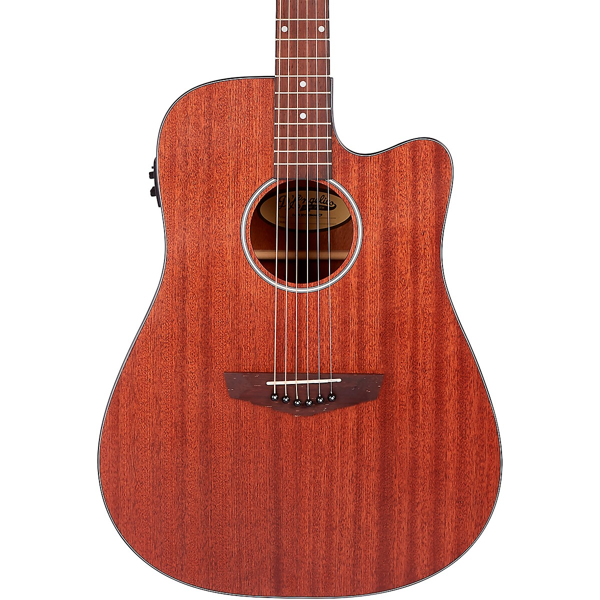 D'Angelico Premier Series Bowery LS Cutaway Dreadnought Acoustic-Electric Guitar