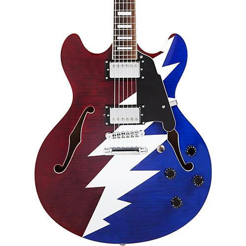 D'Angelico Premier Series DC Grateful Dead Semi-Hollow Electric Guitar