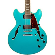 Premier Series DC Semi-Hollow 12-String Electric Guitar Stopbar Tailpiece Ocean Turquoise