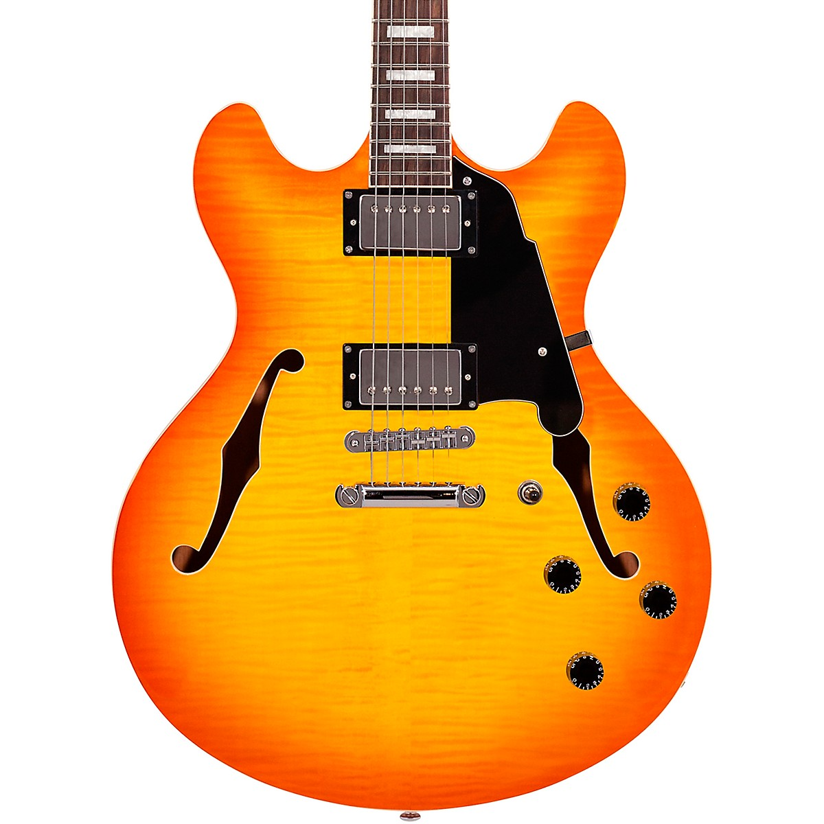 D'Angelico Premier Series DC with Stop Tail Piece Hollowbody Electric Guitar