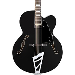 Premier Series EXL-1 Hollowbody Electric Guitar with Stairstep Tailpiece Black