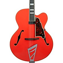 Premier Series EXL-1 Hollowbody Electric Guitar with Stairstep Tailpiece Level 2 Fiesta Red 194744173592
