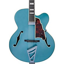 Premier Series EXL-1 Hollowbody Electric Guitar with Stairstep Tailpiece Level 2 Ocean Turquoise 190839811707
