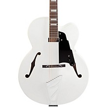 Premier Series EXL-1 Hollowbody Electric Guitar with Stairstep Tailpiece White