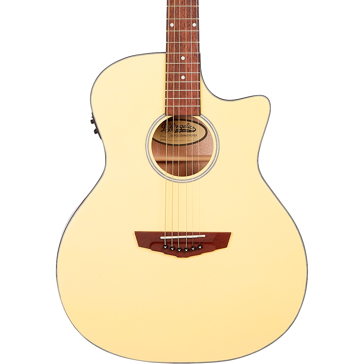 D'Angelico Premier Series Gramercy CS Cutaway Orchestra Acoustic-Electric Guitar