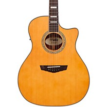 Premier Series Gramercy Single Cutaway Grand Auditorium Acoustic-Electric Guitar Vintage Natural