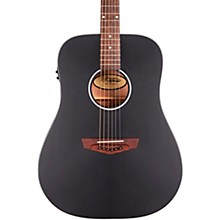 Premier Series Lexington CS Non-Cutaway Dreadnought Acoustic/Electric Guitar Level 2 Matte Black 190839917102