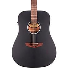 Premier Series Lexington CS Non-Cutaway Dreadnought Acoustic/Electric Guitar Level 2 Matte Black 190839932204