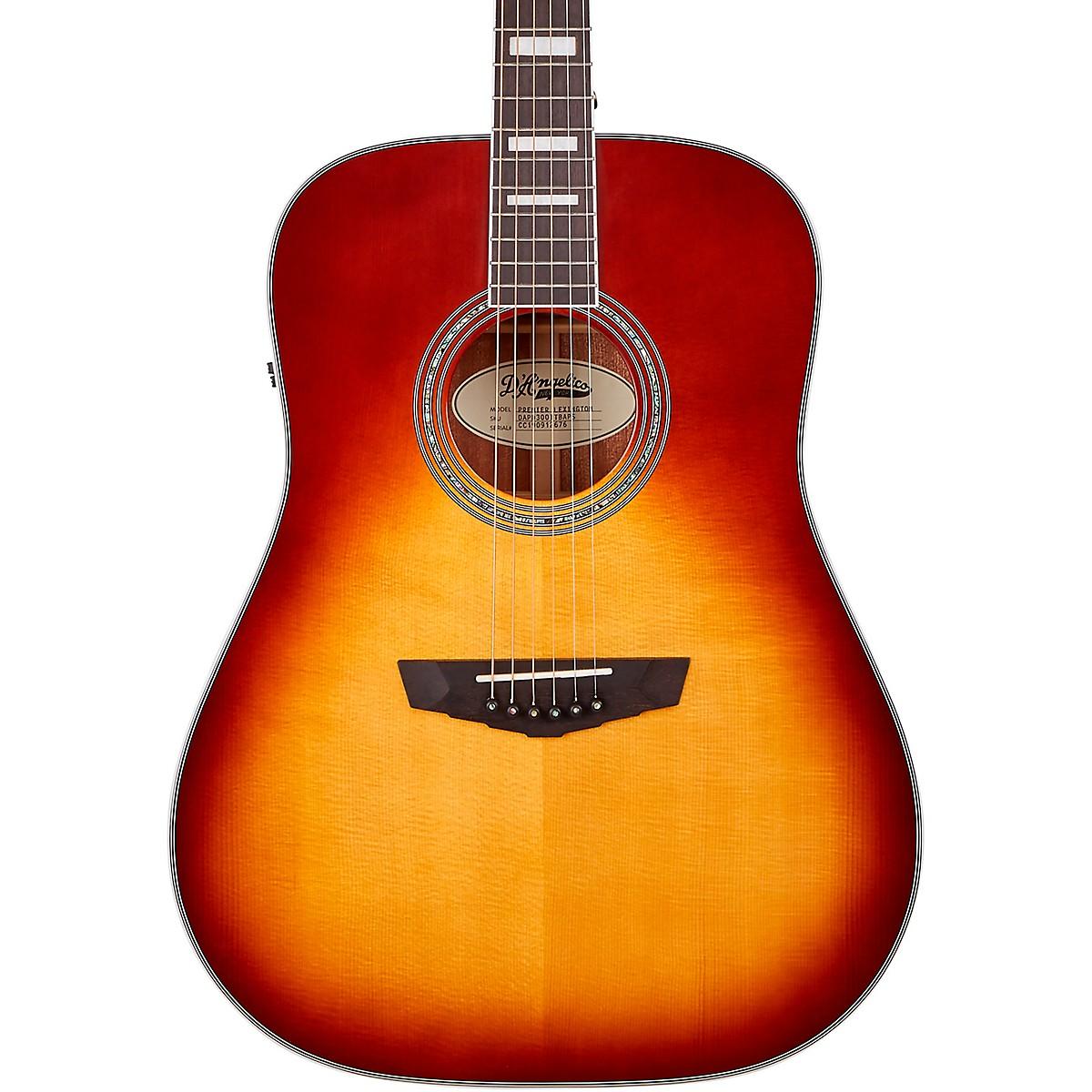 D'Angelico Premier Series Lexington Dreadnought Acoustic-Electric Guitar