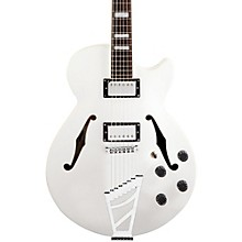 Premier Series SS Semi-Hollowbody Electric Guitar with Stairstep Tailpiece Level 2 White 190839694065