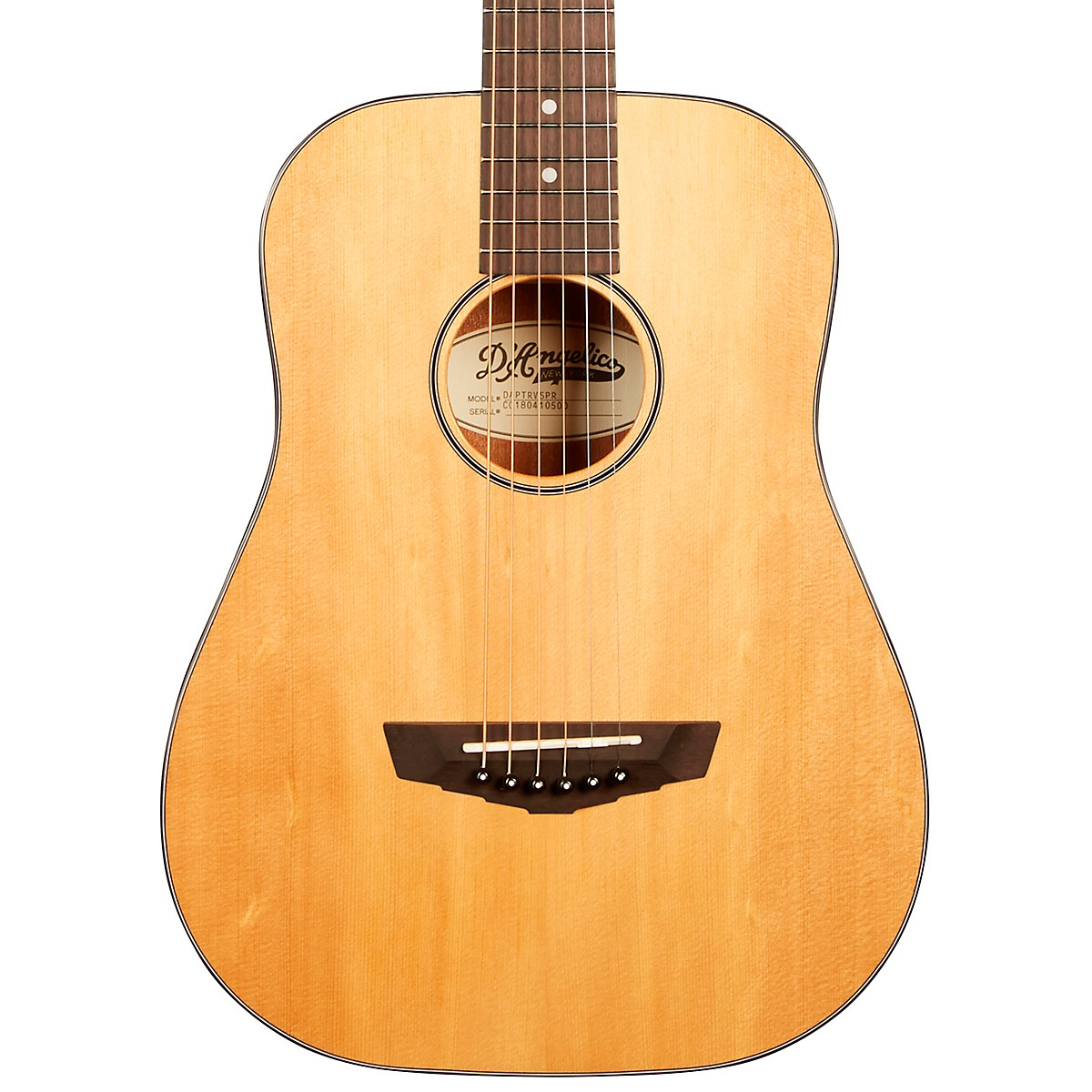 D'Angelico Premier Series Utica Mini Acoustic Guitar With Spruce Top