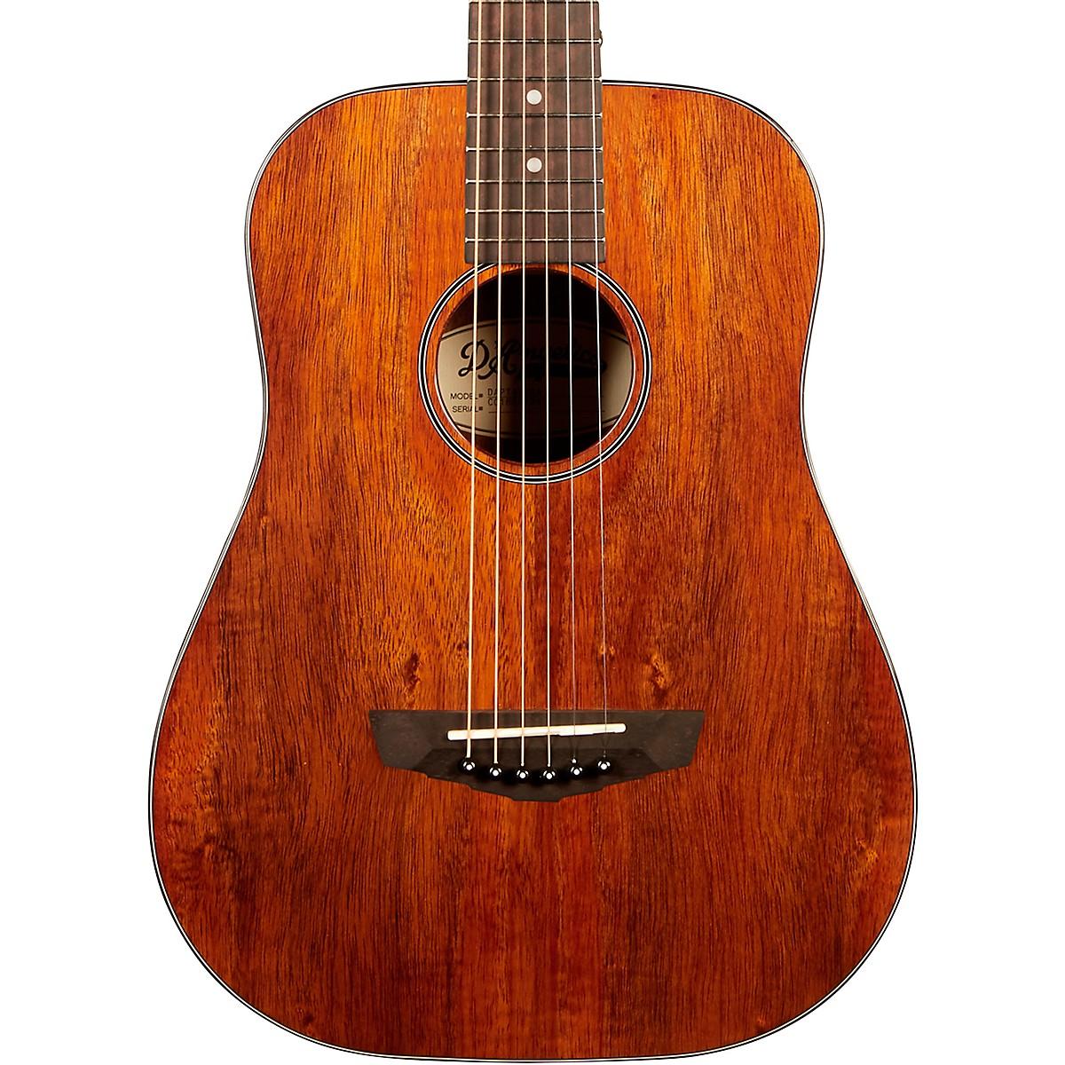 D'Angelico Premier Utica Koa Mini Acoustic Guitar