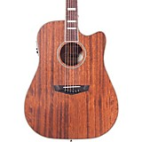 D'Angelico Premiere Riverside Cutaway Dreadnought Acoustic-Electric Guitar Mahogany