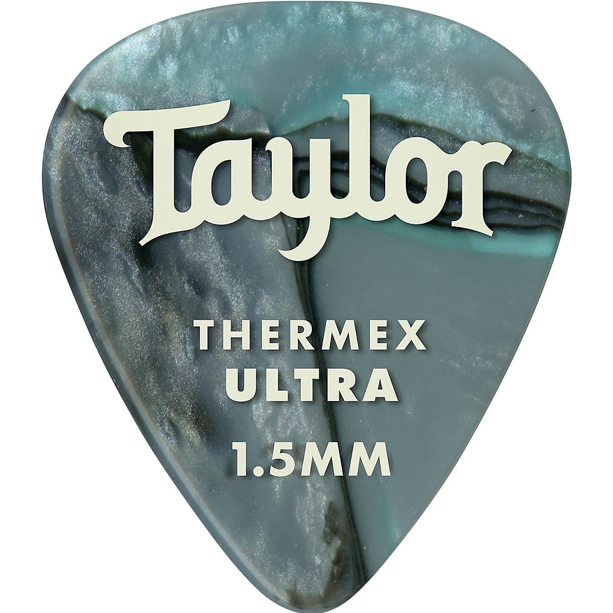 Taylor Premium 351 Thermex Ultra Picks Abalone 6-Pack