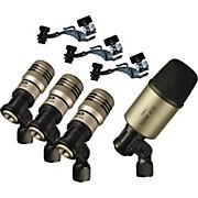 Premium 4-Piece Drum Microphone Pack