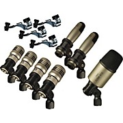 Premium 7-Piece Drum Microphone Kit