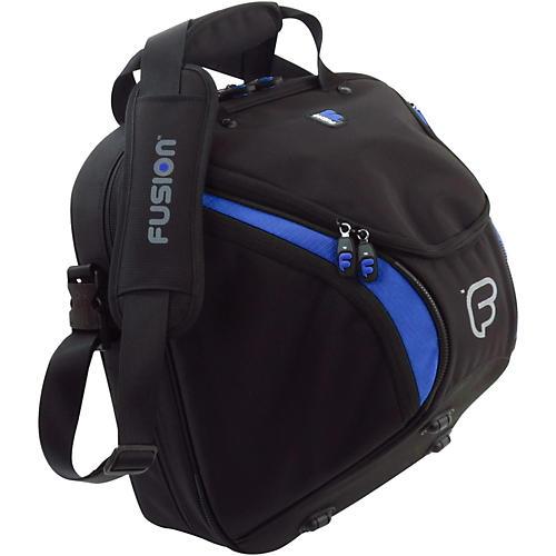Fusion Premium French Horn Detachable, Black/Blue