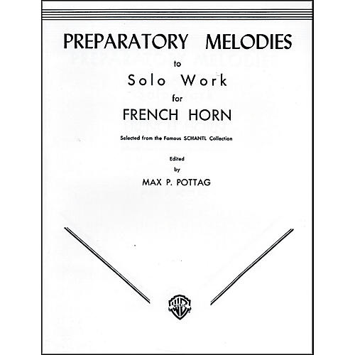 Alfred Preparatory Melodies to Solo Work for French Horn (from Schantl) Book
