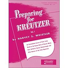 Hal Leonard Preparing for Kreutzer Vol 1