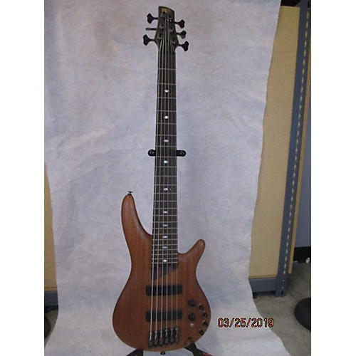 used ibanez prestige sr4006e 6 string electric bass guitar natural guitar center. Black Bedroom Furniture Sets. Home Design Ideas