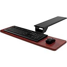 Omnirax Presto Computer Keyboard Shelf - Only Level 1 Mahogany