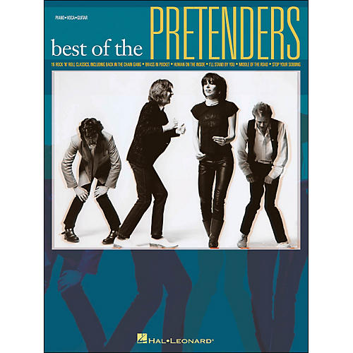 Hal Leonard Pretenders, Best Of arranged for piano, vocal, and guitar (P/V/G)