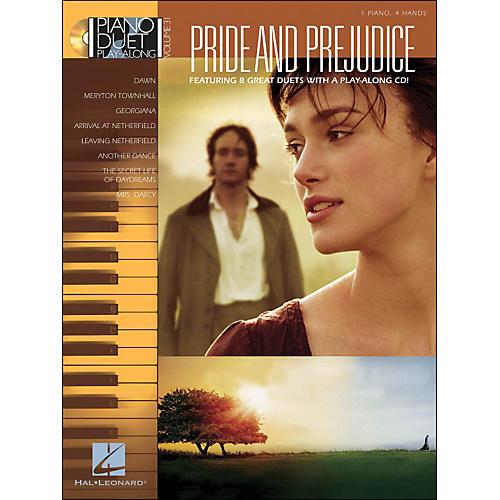 Hal Leonard Pride & Prejudice - Piano Duet Play-Along Volume 31 (CD/Pkg)