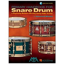 Hal Leonard Primary Handbook for Snare Drum (Book/Online Audio)