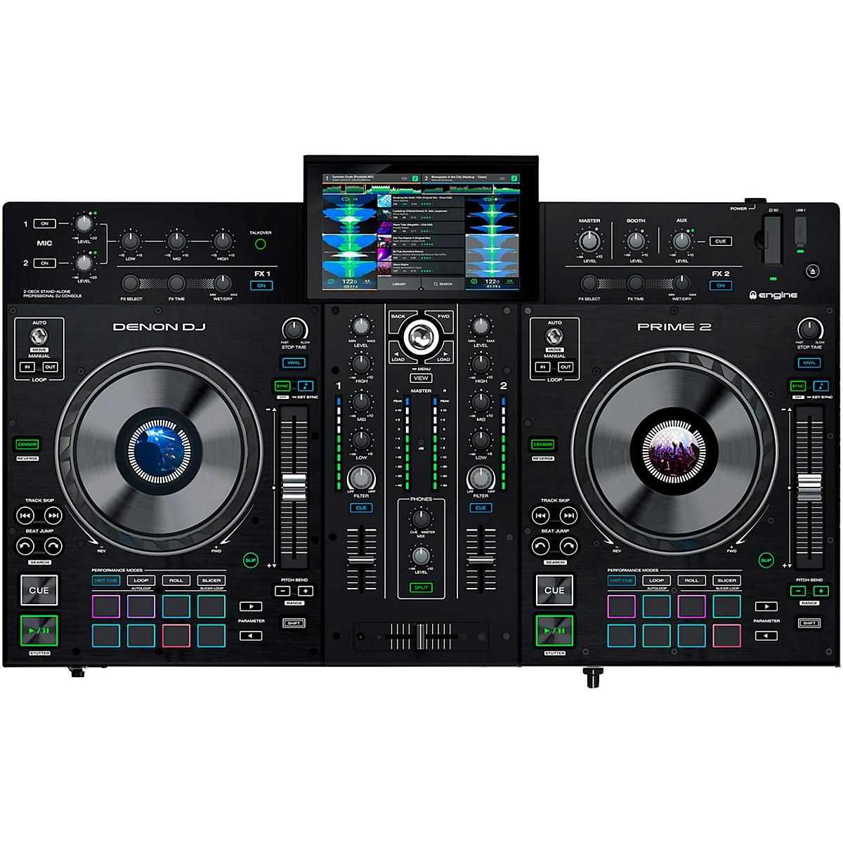 Denon Prime 2 Standalone 2-Channel DJ Controller