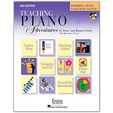 Faber Piano Adventures Primer Level Teacher Guide - Second Edition - Hardcover with DVD