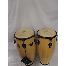 Pearl Primero Conga Set With Twin Stand Natural Conga