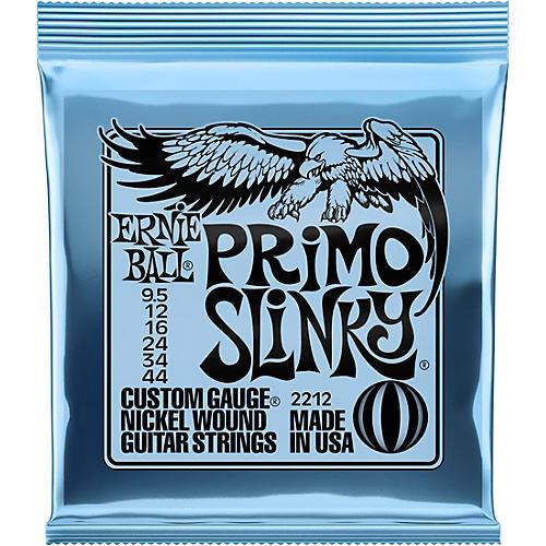Ernie Ball Primo Slinky Nickel Wound Electric Guitar Strings  Gauge