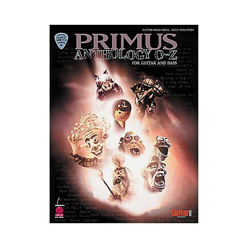 Hal Leonard Primus Anthology O-Z Guitar & Bass Tab Book