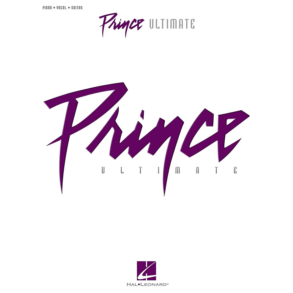 Hal Leonard Prince-Ultimate Piano/Vocal/Guitar Songbook