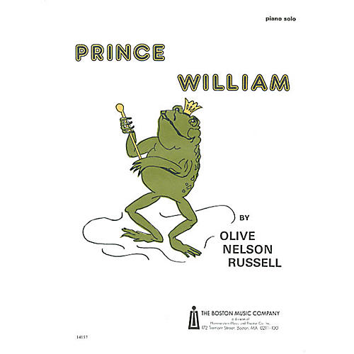 Boston Music Prince William Music Sales America Series Composed by Olive Nelson Russell